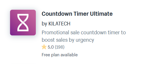 Shopify Apps For Countdown Timers