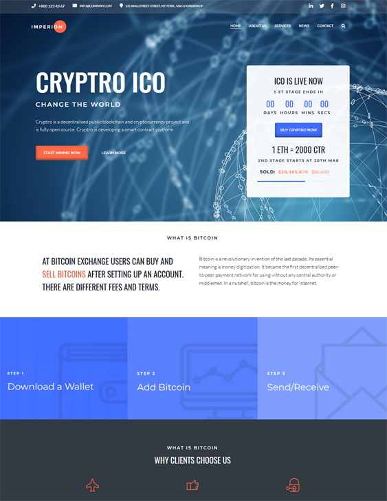 WordPress Themes For Bitcoin And Cryptocurrency Websites