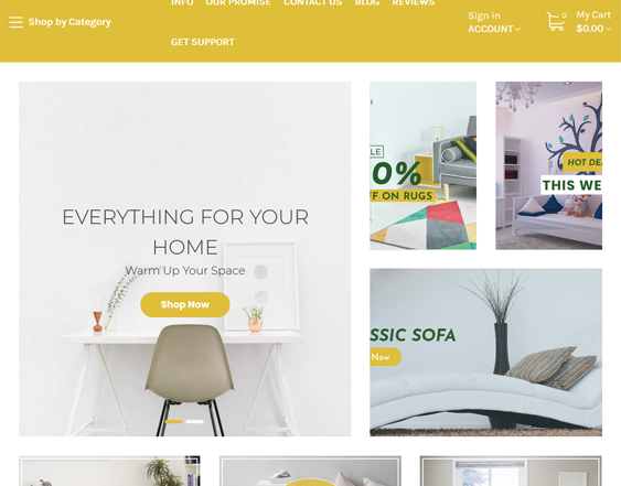 BigCommerce Themes For Online Furniture Stores feature