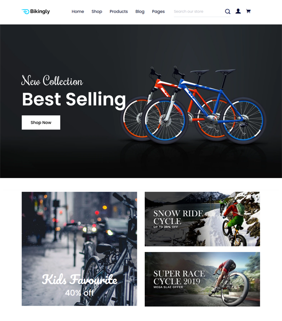 Sports And Fitness Shopify Themes