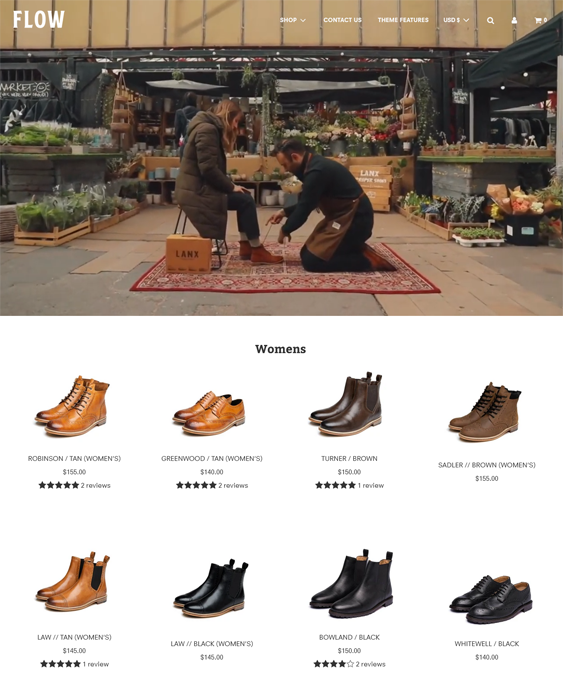 Shopify Themes For Selling Shoes, Sneakers, And Footwear