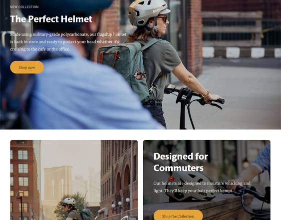 Sports And Fitness Shopify Themes feature