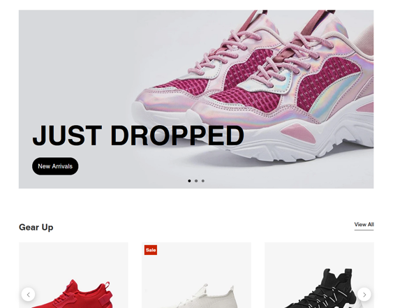 Shopify Themes For Selling Shoes, Sneakers, And Footwear feature