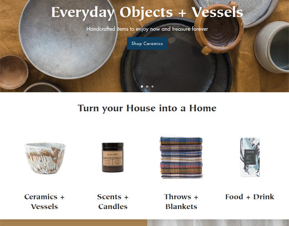 Shopify Themes For Interior Design And Home Decor Stores feature