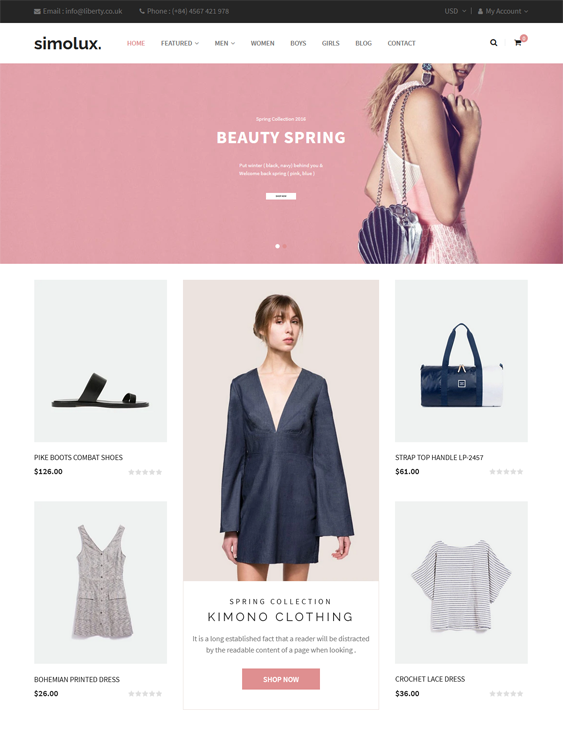 Shopify Themes For Women's Clothing And Fashion Stores
