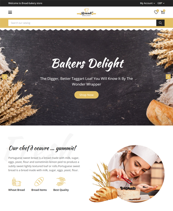 Shopify Themes For Selling Food And Drinks