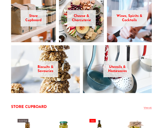 Shopify Themes For Selling Food And Drinks feature