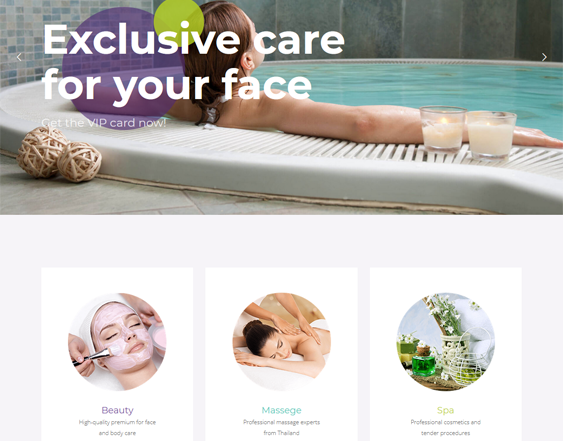 WordPress Themes For Beauty Salons And Spas feature