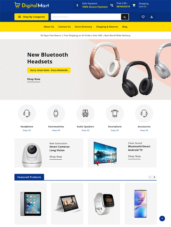 BigCommerce Themes For Online Electronics Stores feature