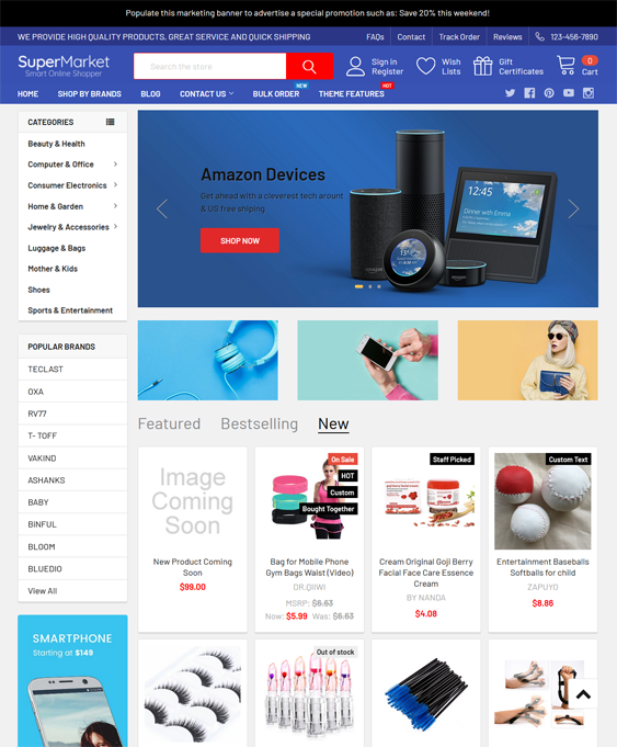 BigCommerce Themes For Online Electronics Stores