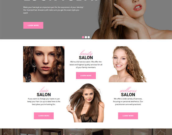 WordPress Themes Spas And Beauty Salons feature