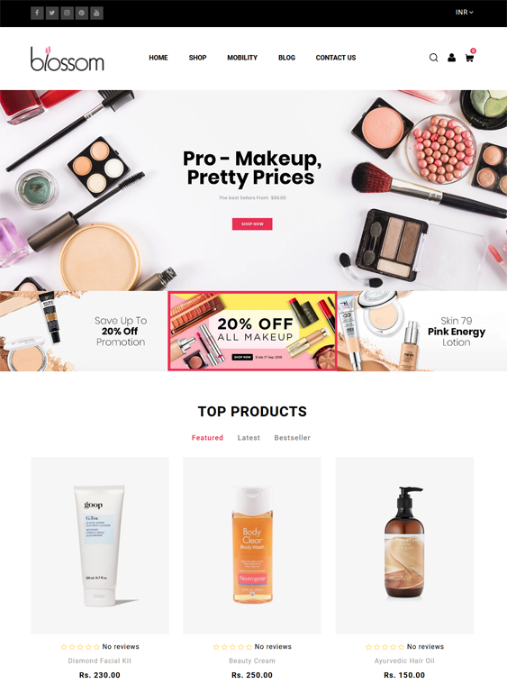 Shopify Themes For Selling Cosmetics, Skincare, Makeup, And Beauty Products