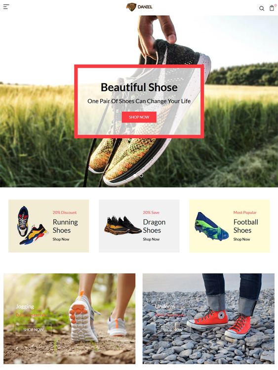 Shopify Themes For Shoe And Footwear Stores