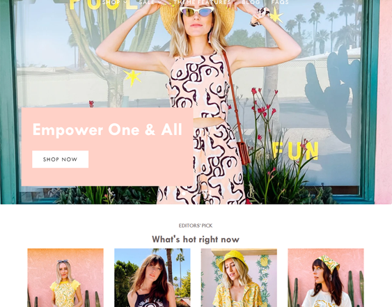 Fashion Shopify Themes For Selling Women's Clothing And Accessories feature