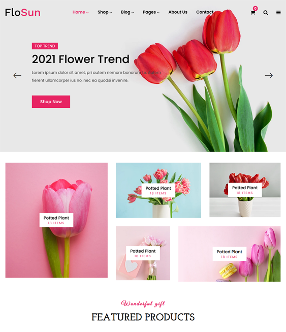 Shopify Themes For Selling Plants And Flowers