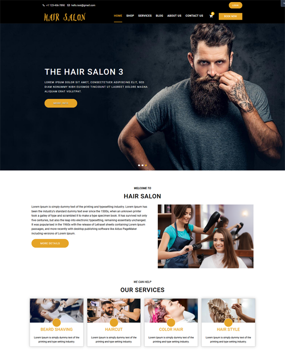 WordPress Themes Spas And Beauty Salons